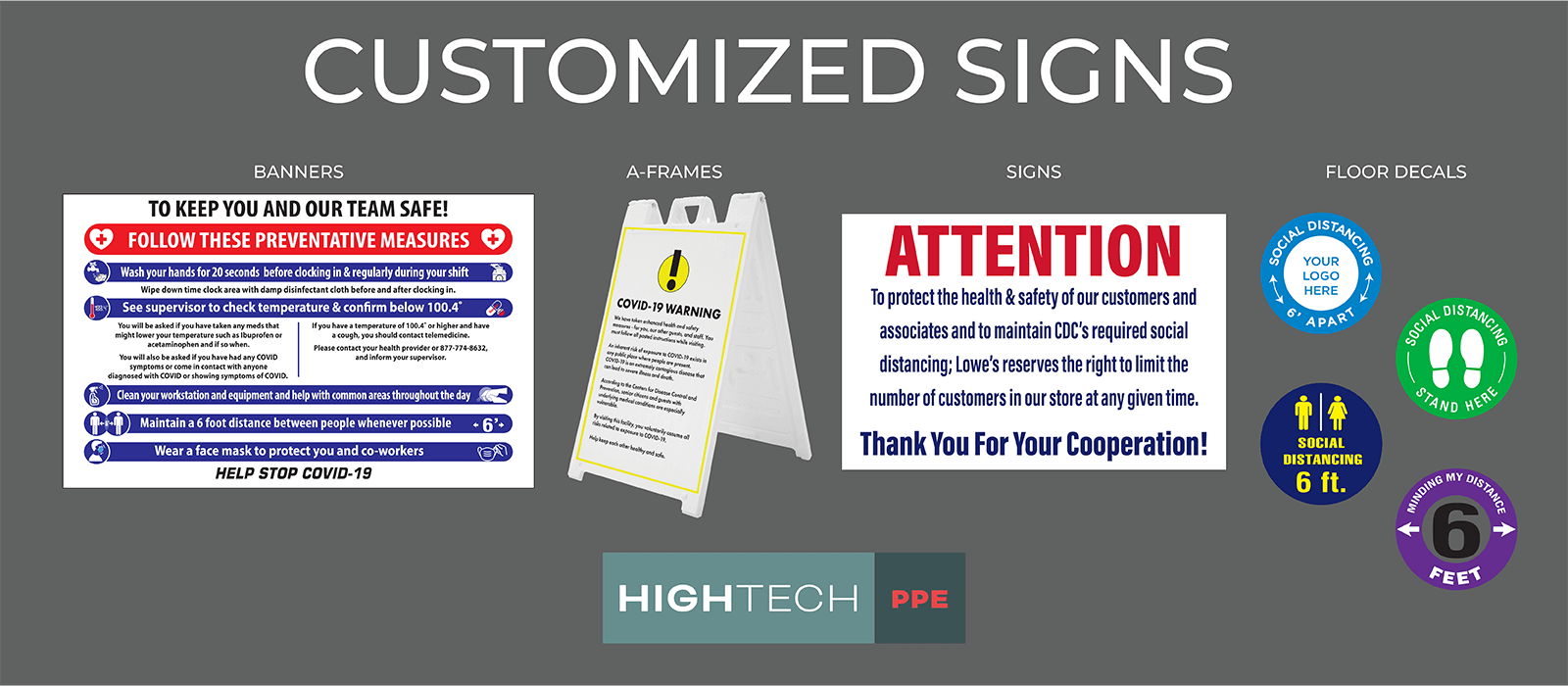 Hightech Customized Signs