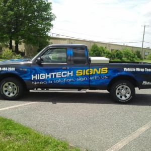 Hightech Signs Truck Wrap 1