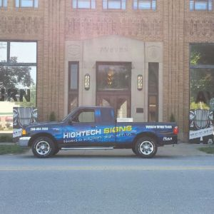Hightech Signs Truck Wrap 2