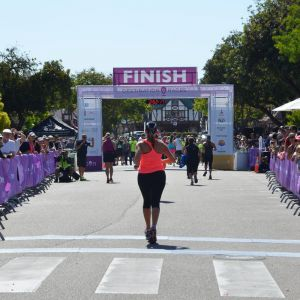 Wine Country Half Marathon Finish Line 2
